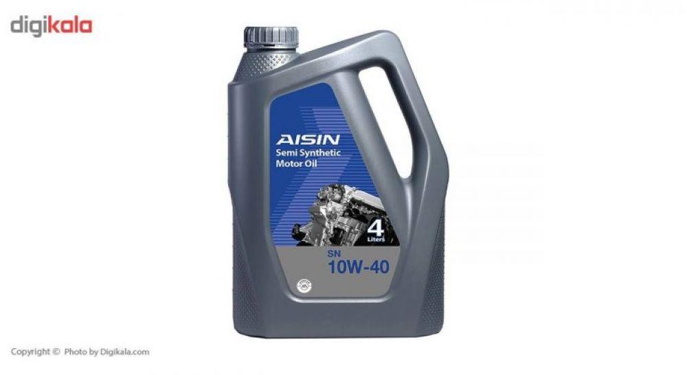 روغن موتور خودرو آیسین مدل SN10W40 ظرفیت ۴ لیتر
