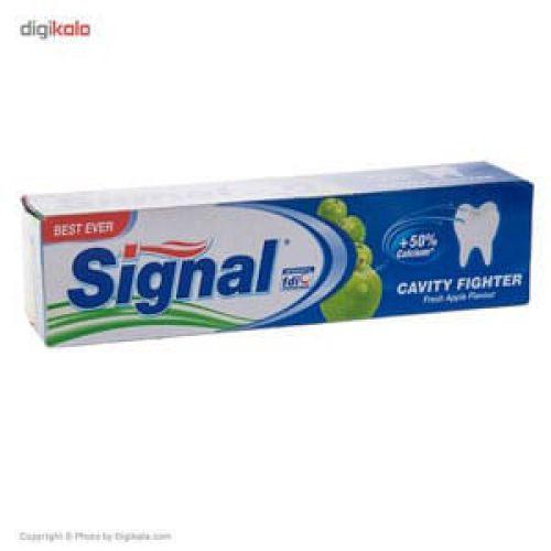 خمیر دندان سیگنال مدل Cavity Fighter Herbal Extract
