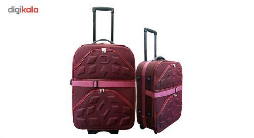 ست دو عددی چمدان مدل ۰۰۱