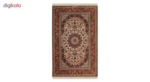 فرش دستباف چهار متری اصفهان صیرفیان کد 1105644