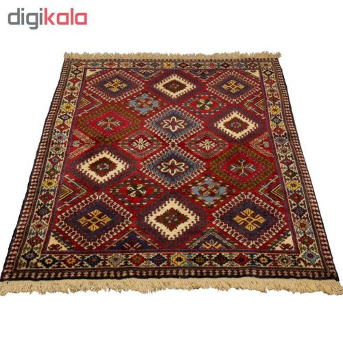 فرش دستباف قشقایی یلمه یک و نیک متری کد ۵۳۲