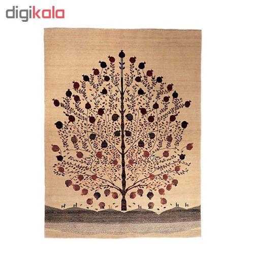 گبه دستباف سه و نیم متری گالری نور کد H1951