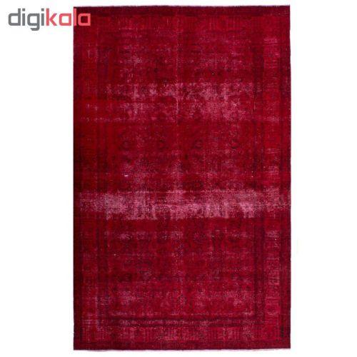 فرش دستباف رنگ شده هجده متری کد 9805111