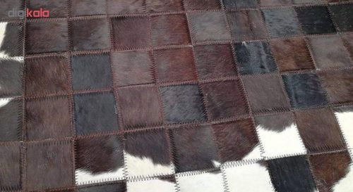 کلاژ فرش پوست و چرم مدل11016