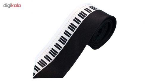 کروات مردانه طرح پیانو کد 01