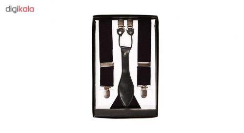 ساس بند مردانه مدلCD30 رنگ مشکی عرض 3 سانت تک سایز