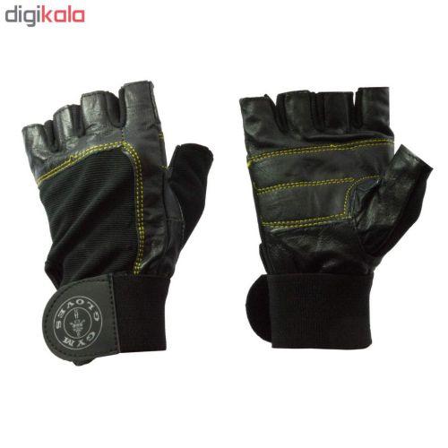 دستکش بدنسازی مردانه کد ۸۰۹