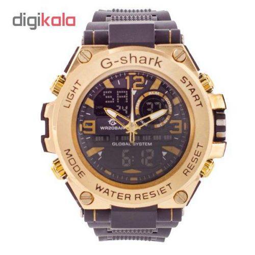 ساعت مچی دیجیتال مردانه جا شارک کد G-SH 3322 – ME-