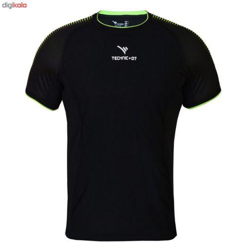 تیشرت ورزشی مردانه تکنیک اسپورت کد TS-132-ME-FO