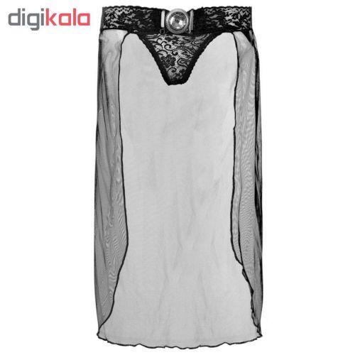 لباس خواب زبانه مدل A HUNY BLC