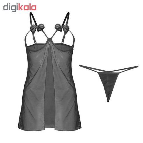 ست لباس خواب و شورت زنانه مدل K15