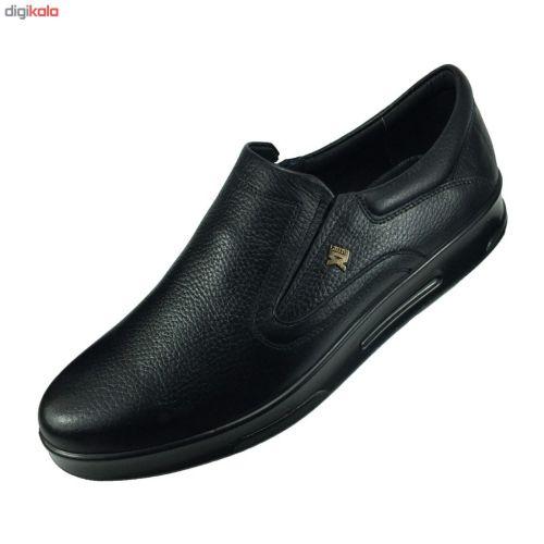 کفش طبی مردانه مدل B435 رنگ مشکی