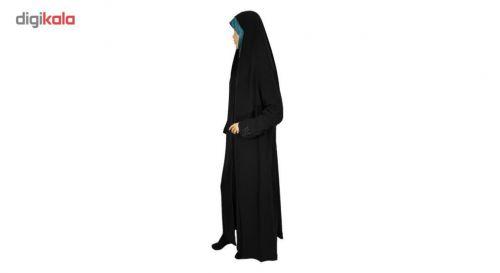 چادر ملی حریر اللاسود طرح دار حجاب حدیث کد ۱۳۵