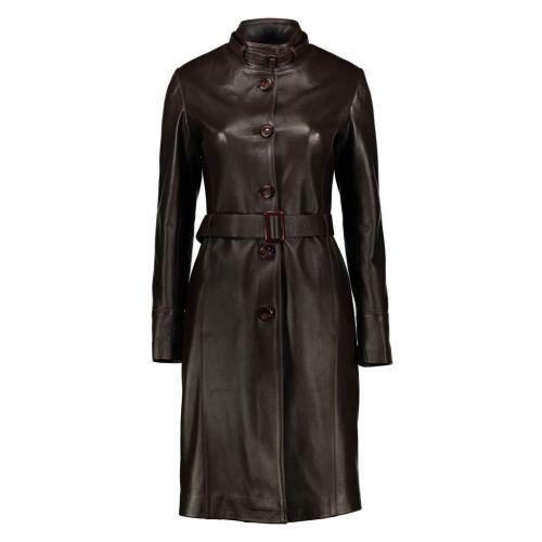 کت چرم زنانه شیفر مدل ۰۲-۲۷۰۶