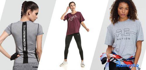 بررسی و خرید بهترین تیشرت ورزشی زنانه از دیجی کالا با تخفیف