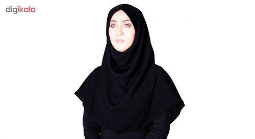مقنه کرپ ساده شهر حجاب مدل ۹۰