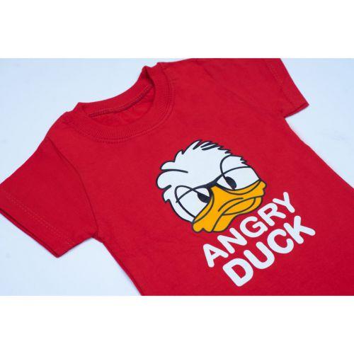 ست تیشرت و شلوارک پسرانه اردک خشمگین کد ۴