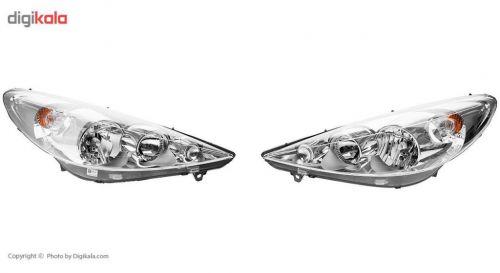 چراغ جلو راست کروز مدل ۴۰۱ مناسب برای پژو ۲۰۶