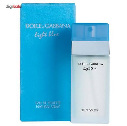 ادو تویلت زنانه دولچه اند گابانا مدل D and G Light Blue حجم 100 میلی لیتر