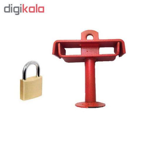قفل پدال کد ۰۸ به همراه قفل آویز