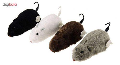 اسباب بازی گربه طرح موش کوکی