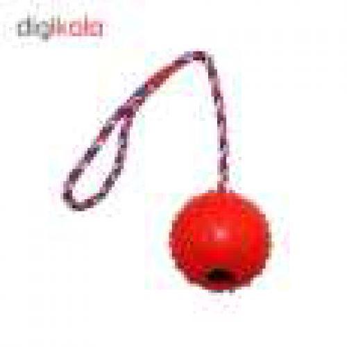 اسباب بازی سگ مدل Rope Hardball قطر 5 سانتی متر