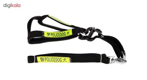 قلاده کتفی سگ پلیس داگ کد001 سایز M