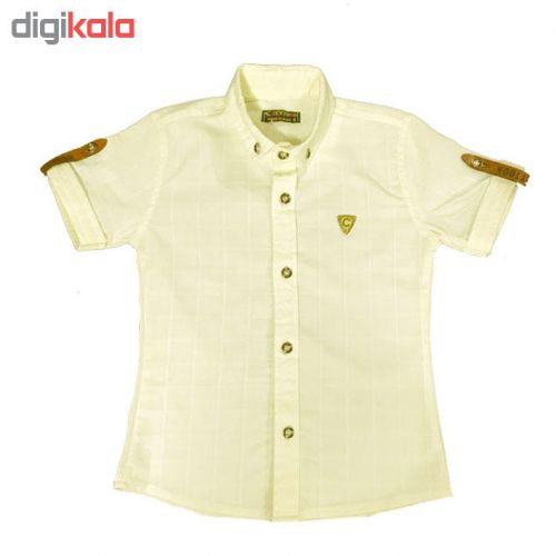 پیراهن آستین کوتاه پسرانه کد Z27