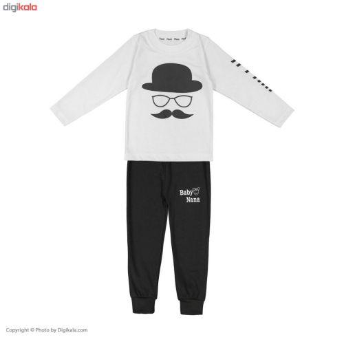 ست تی شرت و شلوار پسرانه کد MV10