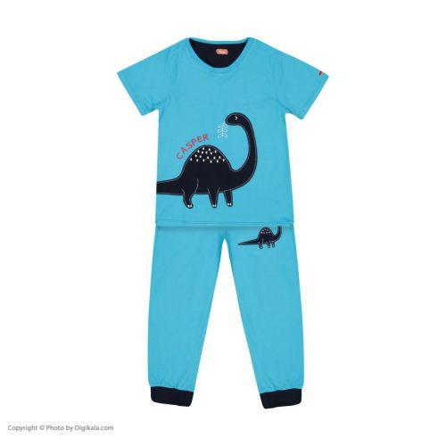 ست تی شرت و شلوار ر احتی پسرانه مادر مدل ۵۲-۲۰۴۱۱۰۶