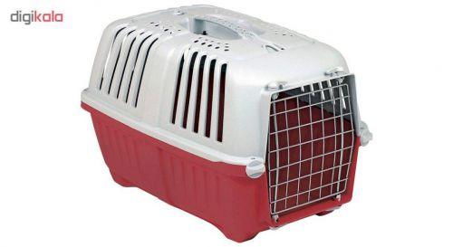 باکس حمل سگ و گربه ام پی اس ۲ مدل پراتیکو ۱ با در فلزی