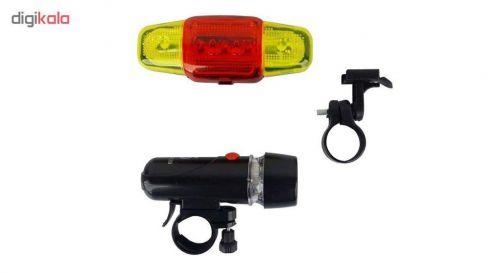 چراغ جلو و عقب دوچرخه سیف گارد کد XY-108