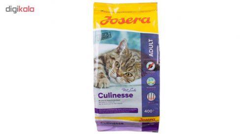غذای خشک گربه جوسرا مدل CULINESSE وزن 400 گرم