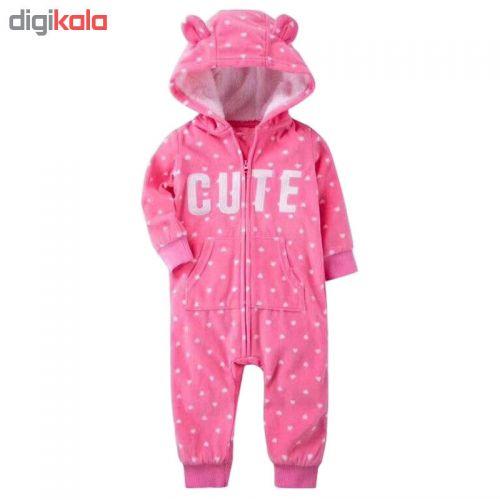 سرهمی نوزادی دخترانه کاترز طرح CUTE کد M333