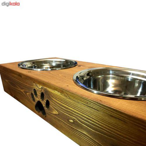 ظرف غذای سگ و گربه کد ۳۳۷
