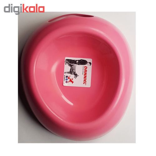 ظرف آب و غذای سگ و گربه مدل نگینی کد ۴۸-۷